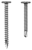 Pancake head screws