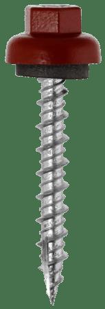 ProZ #10 hi-lo metal panel roofing screw