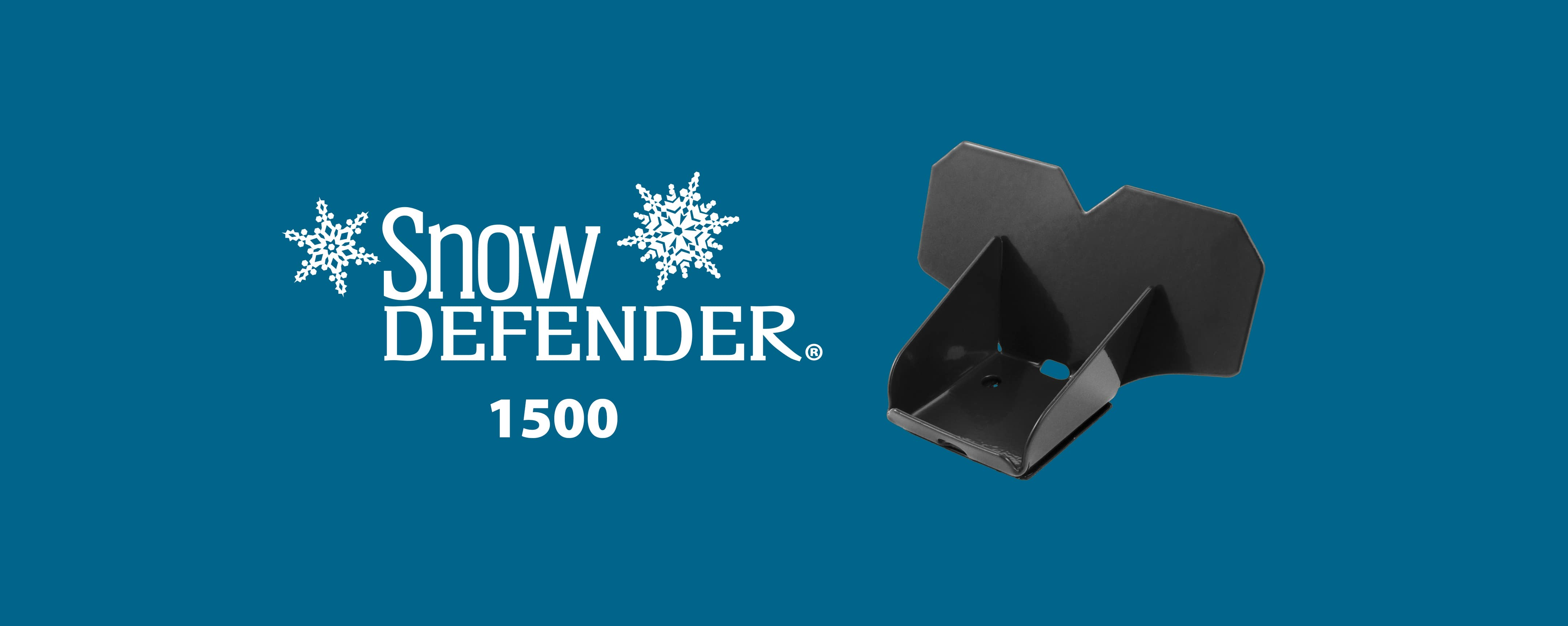 Snow Defender 1500 snow guard for metal roofing and metal panel