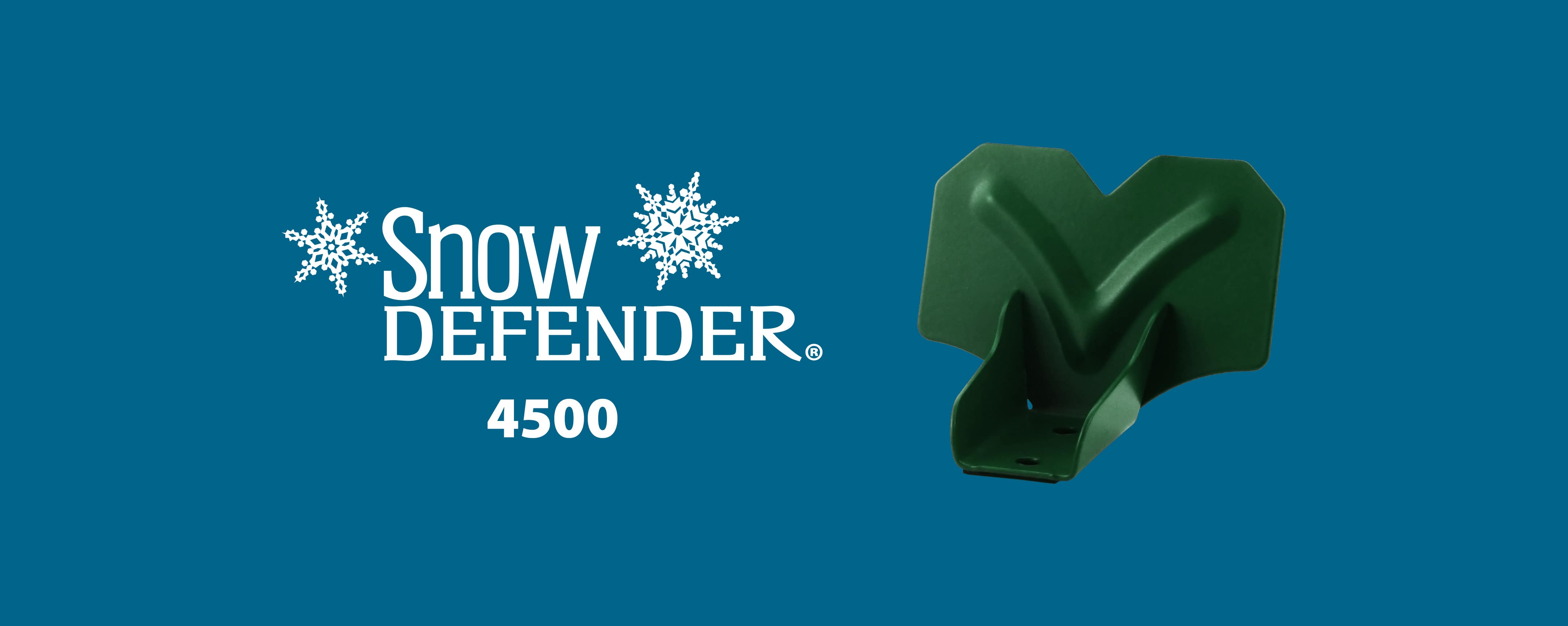 Snow Defender snow guard 4500 for metal roofing and metal panel