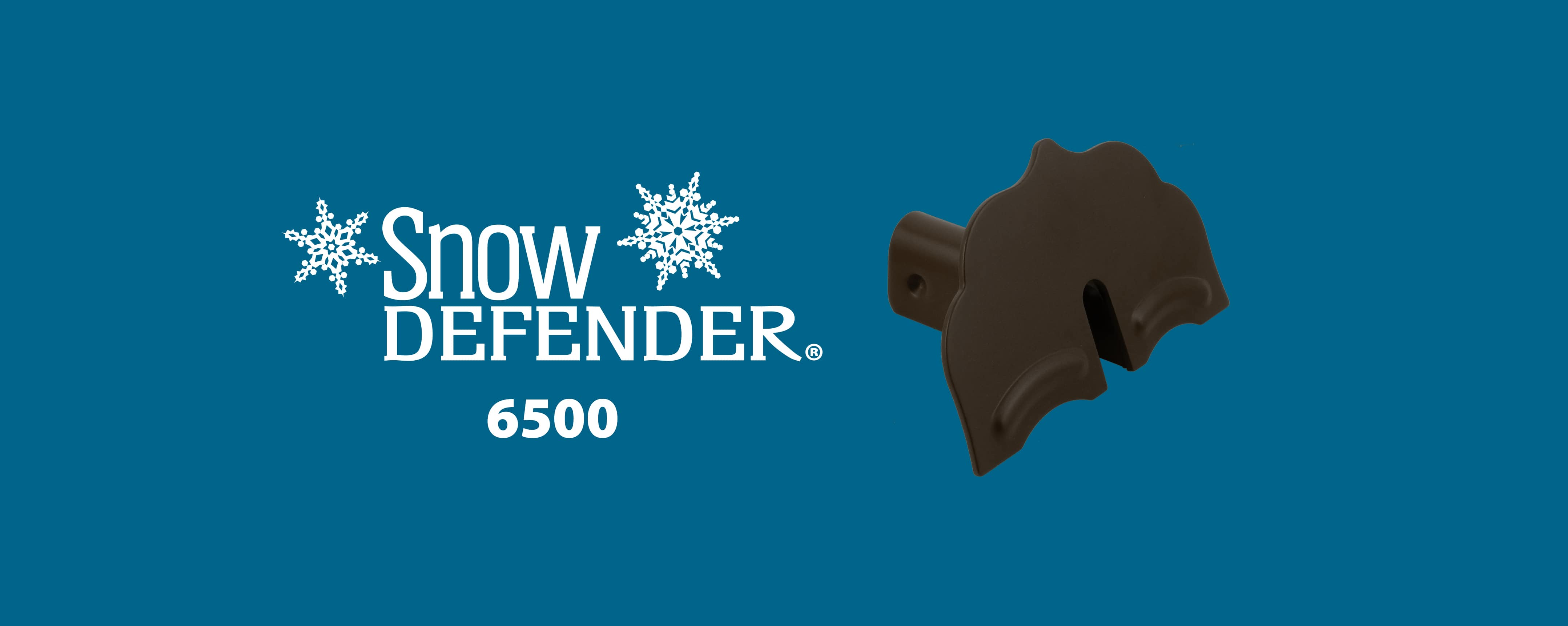 Snow Defender snow guard 6500 for metal roofing and metal panel