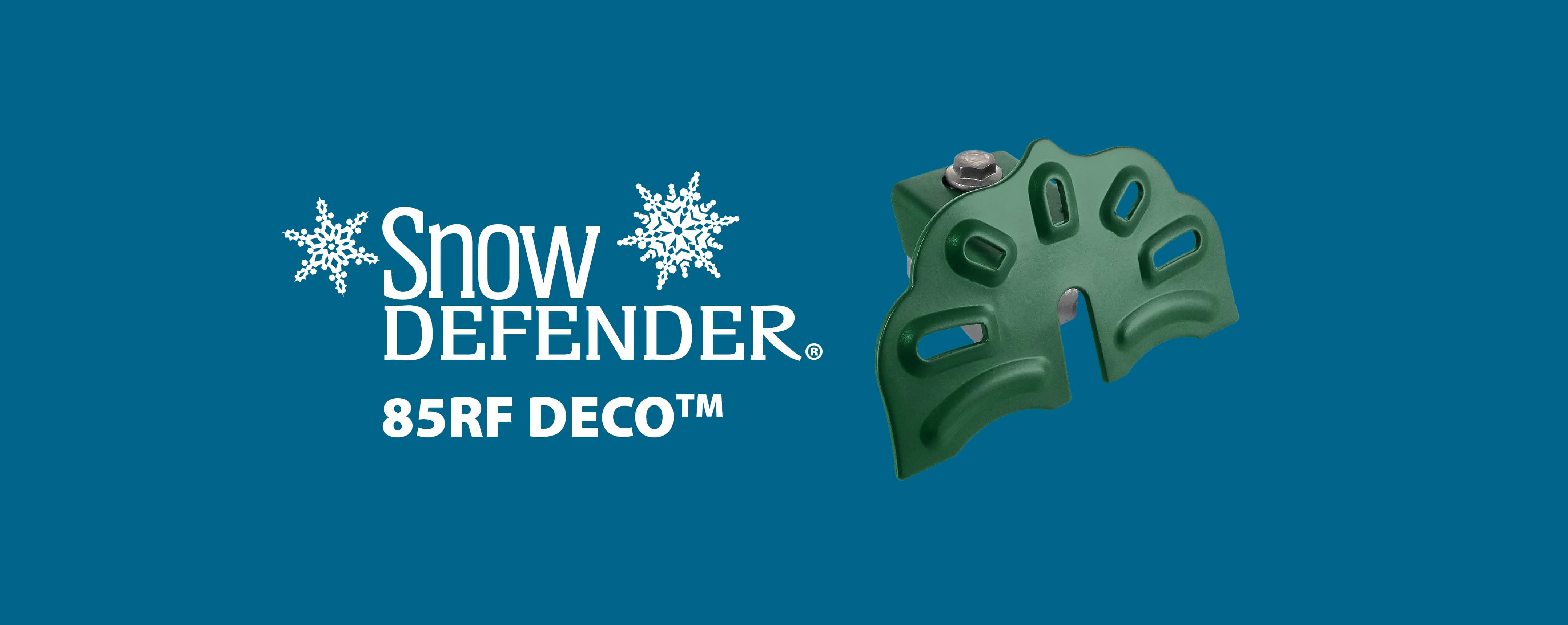 Snow Defender snow guard 85RF DECO for metal roofing and metal panel