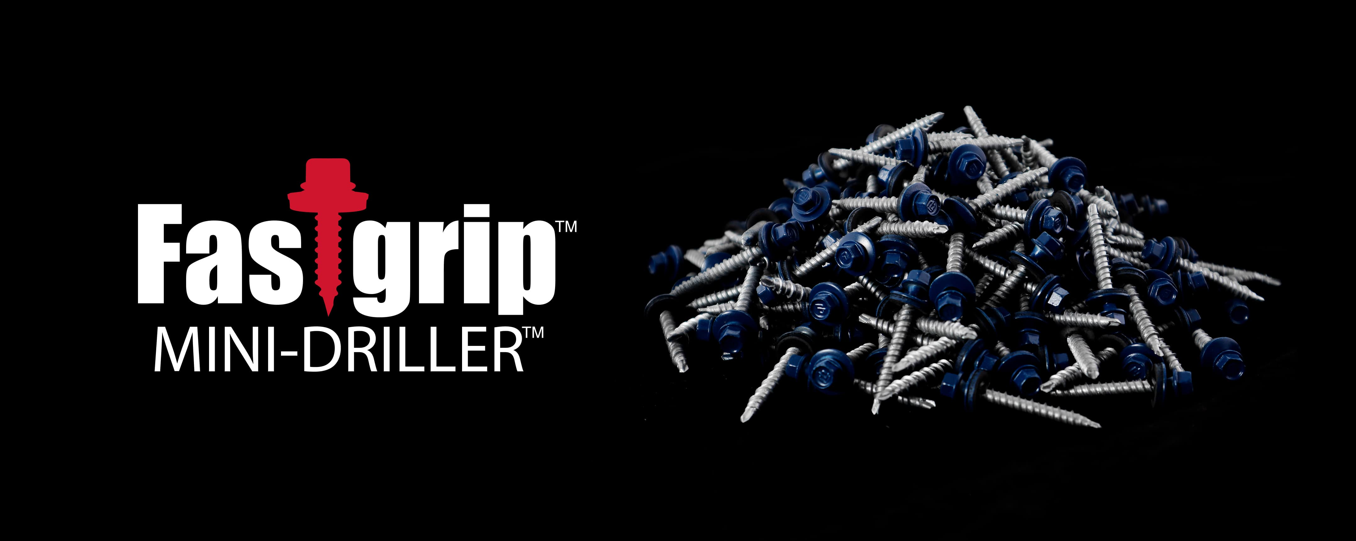 Fastgrip Mini-Driller roofing screw