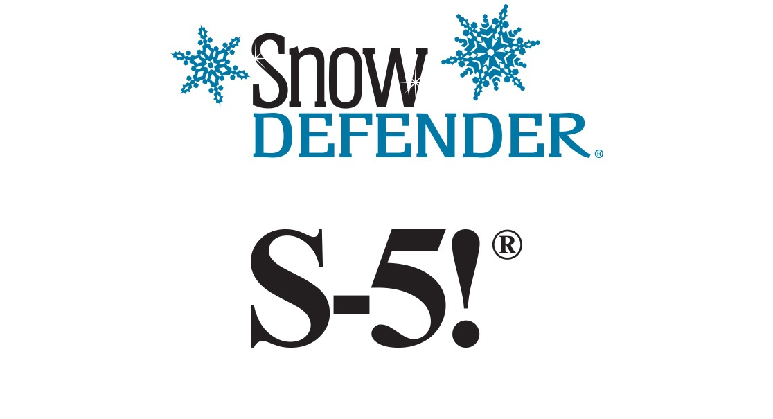 Snow Defender and S-5! logos
